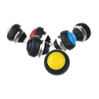 Seeedstudio 12mm Domed Push Buttons Set - Black + White (6PCS)