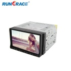 "Rungrace RL-203WGNR02 7"" TFT 2-Din Win CE 6.0 Car DVD Player w/ BT, GPS, RDS, SD, USB - Black"