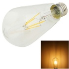 YouOKLight E27 4W 400lm 3000K Warm White Light LED Filament Bulb (AC 110~120V)
