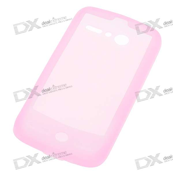 Protective Silicone Case for HTC G7 (Pink)