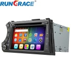 "Rungrace RL-918AGNR 7"" Android 4.2 Car DVD Player w/ BT, GPS, Wi-Fi, IPOD for Ssangyong Acyton"