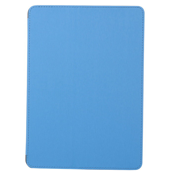 Toothpick Grain PU + PC Case for IPAD AIR / AIR 2 - Blue + Black