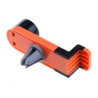 360' Rotating Car Air Vent Mount for Mobile Phone - Orange + Black