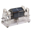 NEJE Solar Magnetic Levitation Motor Engine - Black + Transparent