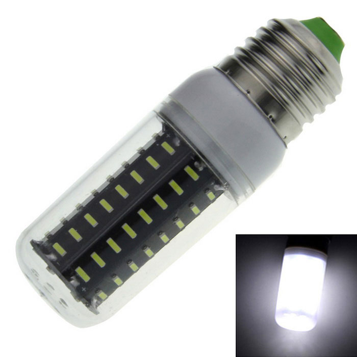 E27 7W LED Corn Lamp Cold White 550lm 72-4014 SMD (AC 220~240V)