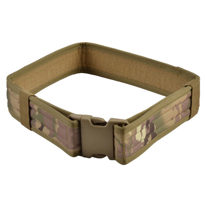 "2"" Outdoor Adjustable Tactical Nylon Waist Belt - Camouflage"