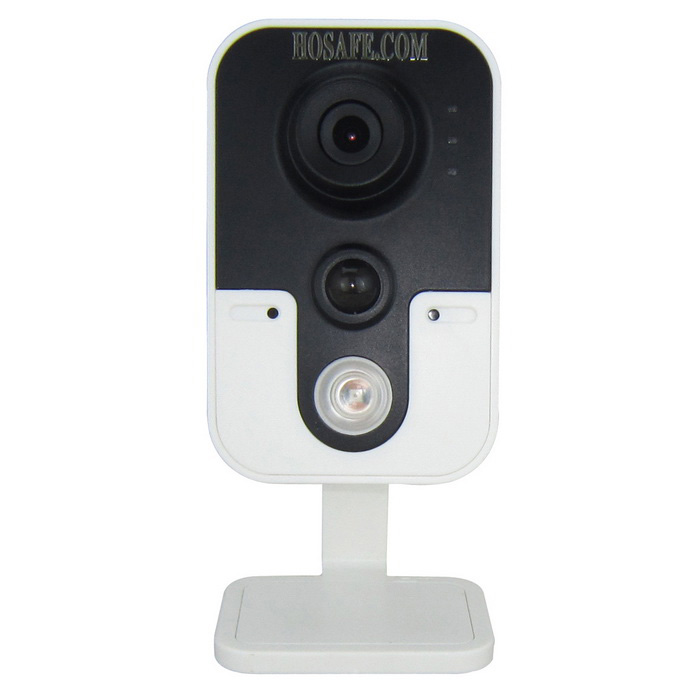 HOSAFE 1.0MP 720P IP Camera w/ Night Vision US Plugs - Black + White