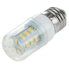 E27 2.5W LED Corn Bulb Lamp Warm White Light 3500K 300lm 24-SMD 5730 - White (AC 220~240V)