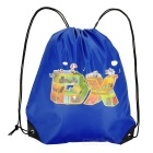 DXman Style Portable Drawstring Oxford Gift Storage Pouch Bag - Blue