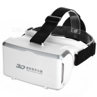 "Virtual Reality Headband 3D Glasses for 3.5~6"" Mobile Phones - White + Black"