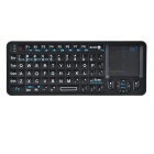 Rii RT-MWK06 2.4GHz Wireless 72-Key Keyboard w/ Touch Pad, IR Remote, Backlight - Black