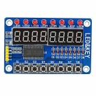 8-Bit Digital LED Tube 8-Bit TM1638 Key Display Module for Arduino
