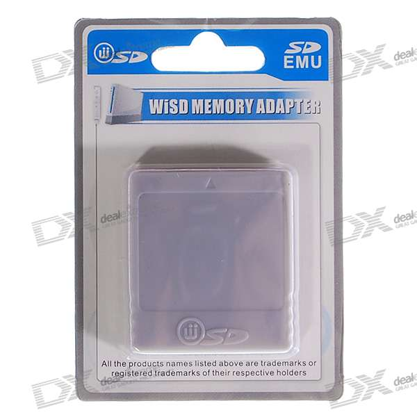 Wiikey SD Card Adapter for Wii