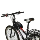 "ROSWHEEL Bike Tube Bag w/ Touch Screen for 5.0"" Phones - Black"