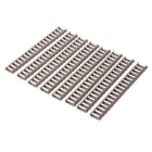 21mm Ladder Rail Covers Protectors Handguards Set for Gun - Sand Color