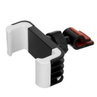 Auto-Luft-Outlet Mount Halterung w / Anti-Rutsch-Pad für 5,5 ~ 8cm Devices - Black + White