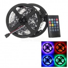 JRLED Waterproof 60W LED Light Strips RGB 6000lm SMD 5050 w/ Music 2.0 Controller (UK Plug / 2 PCS)