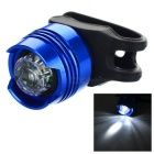 LED Bike Helmet Warning Taillight Lamp 3-Mode Cool White - Sapphire Blue (2 x CR2032)