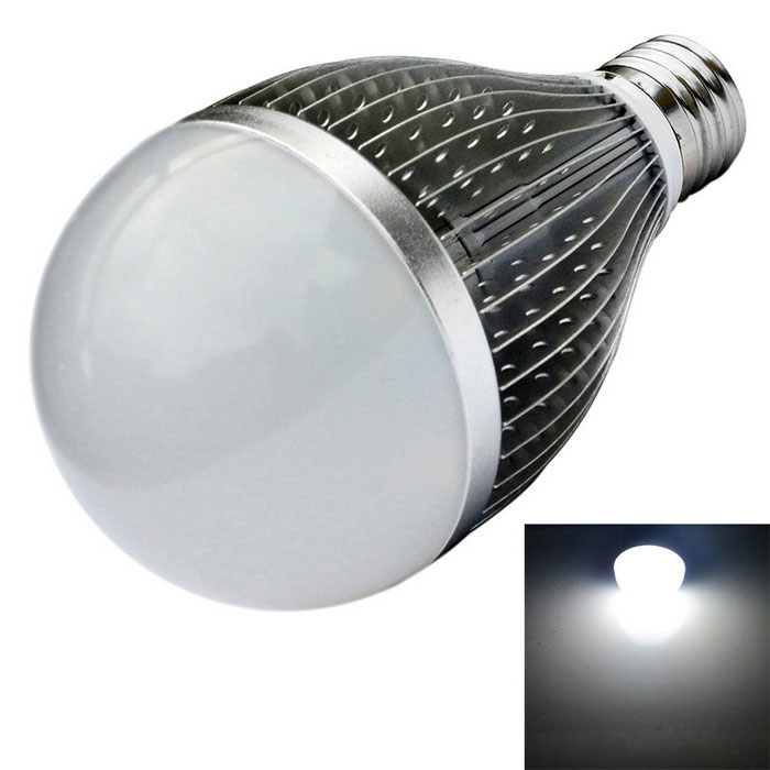 JIAWEN E27 0~810lm LED Neutral White Dimmable Bulb Light (AC 110~240V)E27<br>Form  ColorSilverColor BINNeutral WhiteMaterialAluminum alloyQuantity1 DX.PCM.Model.AttributeModel.UnitPower9WRated VoltageOthers,AC 110-240 DX.PCM.Model.AttributeModel.UnitConnector TypeE27Emitter TypeLEDTotal Emitters9Theoretical Lumens0-810 DX.PCM.Model.AttributeModel.UnitActual Lumens0-810 DX.PCM.Model.AttributeModel.UnitColor Temperature12000K,Others,5500KDimmableYesBeam Angle180 DX.PCM.Model.AttributeModel.UnitPacking List1 x LED Light<br>