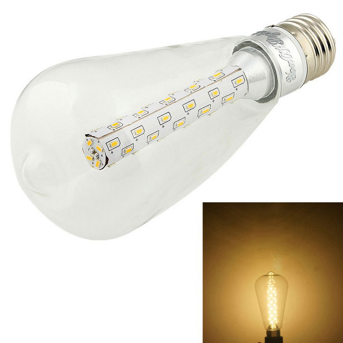 YouOKLight E27 5W LED Globe Bulb Warm White 480lm 3000K (AC 110~120V)