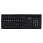 Bluetooth V3.0 Keyboard w/ 102 Number Keys for Android / Windows / IOS - Black