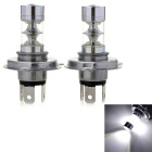 Marsing H4 50W 10-XPE LED Car Fog Lights / Headlamps White Light 6500K 4000lm (DC 12~30V / 2 PCS)
