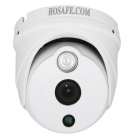HOSAFE 1MD8W 1.0MP 720P HD Mini IP Camera w/ POE Kit, 1-IR-LED, ONVIF, Motion Detection (US Plug)