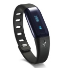 "MAIKOU M-1 Waterproof 1.0"" Android 4.4 Bluetooth V4.0 Smart Bracelet w/ Pedometer / Alarm - Black"