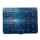 8-Channel USB Control Switch Relay Module for PC - Blue (12V)