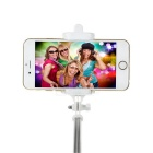 Portable Retractable Bluetooth 3.0 Selfie Monopod - Blue