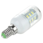 E14 2.5W 300lm 6500K 24-SMD LED Cold White Light Constant Current