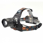 BORUIT RJ-2157 Waterproof XM-L 5-Mode 1000lm White Light LED Bike Light Headlamp - Black
