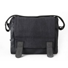CADEN M3 Water-Resistant Canvas DSLR Camera Shoulder Bag for Nikon / Canon - Black