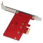 WBTUO LT304-NS PC PCI-E to M.2 (NGFF) / SATA 3.0 Transfer Card - Red