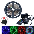 JIAWEN 25W LED Light Strip RGB1800lm 300-3528SMD w/ Music LED Controller (DC 12V / 5m)