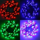 JIAWEN 25W LED Light Strip RGB 1800lm 300-SMD com controlador de música (5m)
