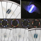 ZHISHUNJIA TF07 Bicycle Hot Sell 7-LED RGB Wheel Light - White