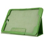 Protective Flip-Open PU Case w/ Stand for Samsung T550 - Green
