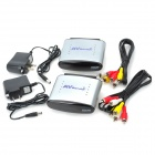 2.4GHz 4-CH RF Wireless AV Transmitter/Receiver Set (Max. 100M/100V~240V)