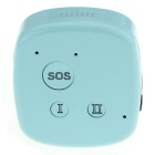 Mini Handheld GSM / GPRS Personal Positioning GPS Tracker - Light Blue