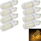 YouOKLight E27 7W LED lámparas de maíz caliente blanco 3000K 680lm 36 SMD 5730 (220 ~ 240V / 8 PCS)