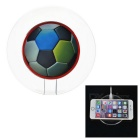 LED luminoso fútbol colorido estilo Qi Wireless transmisor cargador para IPHONE / Samsung y más