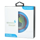 Luminous Football Style Qi Wireless Charger for IPHONE - Transparent
