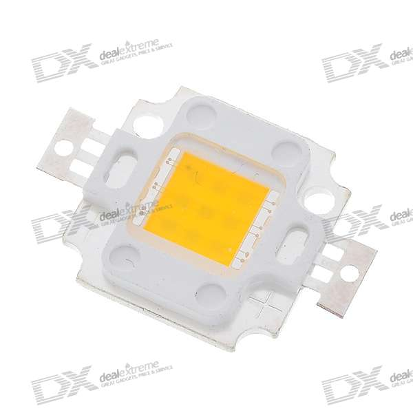 10W 650LM Warm White Light LED Metal Plate Module (10V~11V)Form  ColorWhiteColor BINWarm WhitePacking List<br>
