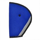 Car Safety Belt Fixing Shoulder Pad Adjuster for Kids - Blue