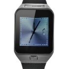 "ZGPAX S29 intelligente Bluetooth Watch Phone w / 1,54 ""Screen, HD-Kamera, Schrittzähler, Sleep Monitor - Schwarz"