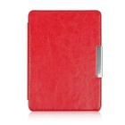"EPGATE Protective PU Leather Flip-Open Case Cover for 6"" KOBO GLO HD E-Book - Red"