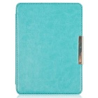"EPGATE Protective PU Leather Flip-Open Case Cover for 6"" KOBO GLO HD E-Book - Sky Blue"