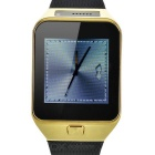"ZGPAX S29 Smart Bluetooth Watch Phone w/ 1.54"" Screen, Pedometer, Sleep Monitor - Black + Gold"