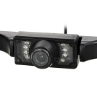 Universal 2.4GHz Wireless Car Rearview Camera - Black